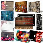 "Cool Style Wood Hard Case keyboard cover For Macbook Air 11""Pro 13""15"" Touch bar"