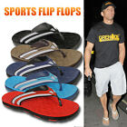Mens Summer Holiday Gym Sports Casual Toe Post Flip Flops Pool Beach Sandals New