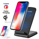 Qi Wireless Charger Charging Pad + Receiver Kit + Adapter For iPhone Samsung