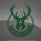 "Milwaukee Bucks NBA Logo Vinyl Decal Sticker - 4"" and Larger - 30+ Colors!"