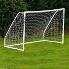 PE Football Soccer Goal Post Net Sports Training Practice Outdoor 24X8FT 12X6FT