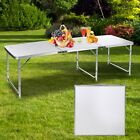 Adjustable Height Aluminum Folding Table Outdoor Party Dining Camping Table Best