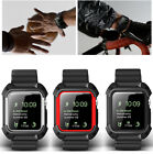 Accessories Rugged Cover Case + Wrist Strap Bands For Apple Watch iWatch 1 & 2