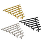 "∅1/2"" Satinless Steel T bar Kitchen Cabinet Door Handles Drawer Pull Knobs"