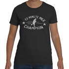 13 Minute Mile Champion Funny Running Workout Fitness Womens T-Shirt 100% Cotton