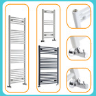 Curved Heated Towel Rail Designer Ladder Style Bathroom Radiator Central Heating