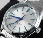 Luxury Men's Automatic Stainless Steel Date Sports Mechanical Analog Wrist Watch