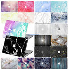 """Rubberized Laptop Marble Hard Case cover For Macbook Pro 13""""15"""" w / no TOUCH BAR"""