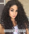 Full Lace Wigs Curly Human Hair 6A Brazilian Remy Hair Wig For African Americans