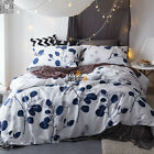 Duvet/Quilt/Doona Cover Set Queen/King Size Bed Linen Long-Staple Cotton New