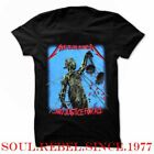 METALLICA JUSTICE FOR ALL PUNK ROCK BAND T SHIRT  MEN'S SIZES image