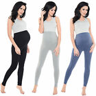 Purpless Maternity HQ Pregnancy Leggings Over Bump Full Length Size 1025