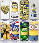 sale for iphone 4s - Funny Sale Minion hard transparent clear Cover Case for iPhone 5 6 7 plus