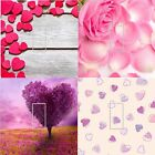 LIGHT SWITCH COVER VINYL STICKER SKIN PLATE TREE LOVE HEARTS ROSE PETALS FLOOR