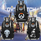 Overwatch Backpack Schoolbag Students Canvas Shoulder Bag Game Anime Handbag OW