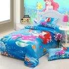 * Mermaid and Little Seahorse Queen Bed Quilt Cover Set - Flat or Fitted Sheet *