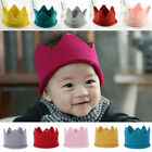 Fashion Newborn Toddler Baby Infant Soft Knit Handmade Cap Knitted Crown Hat