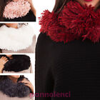 neck warmer woman scarf echo fur band neck gift idea new C-7152