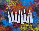 Acrylic Paint Liner Glass Ceramic Craft DECOLA St Petersburg 18ml RUSSIA Russian