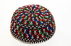 TURKMEN KYRGYZ HAND EMBROIDERED TRADITIONAL SCULLCAP
