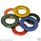 M4 GREEN STAINLESS STEEL Coloured Form A Flat Washers - GWR Colourfast® - Coated