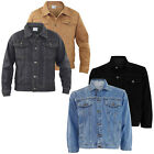 Men's True Face Branded Loose Fit Cotton Summer Casual Denim Jacket