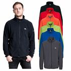 Trespass Gladstone Mens Full Zip Casual Hiking Jumper Lightweight Fleece Jacket