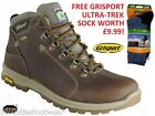 GRISPORT AVIATOR WATERPROOF WALKING HIKING BOOTS - VIBRAM SOLES