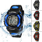 New Men Multifunction Waterproof Women Sports Digital LED Watch Watches
