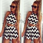 Women Summer Backless Beach Party Bodycon Jumpsuit Romper Playsuit Trousers Y322
