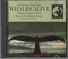 Paul Winter & Paul Halley Whales Alive Narration By Leonard Nimoy CD New Age