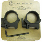 Leupold 30mm QRW Quick Release Mount Rifle Scope Rings Weaver or Picatinny Base