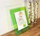 "Acrylic 14x12 magnetic desk picture photo frame for  10X8""  SCHOOL/BABY/WEDDING"