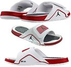 New Men's 10 & 12 Nike Jordan Jumpman Hydro IV Retro Slide Sandals Grain Leather