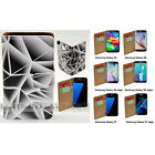 For Samsung Galaxy S9+ S9 S8 S8+ Triangle Polygon Print Wallet Phone Case Cover