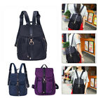 Women's Canvas Rucksack Backpack Travel Shoulder Bag Satchel School Book Bag