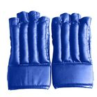 Pro Boxing Bag Training Kickboxing Sparring MMA Thickened Leather Gloves Unisex