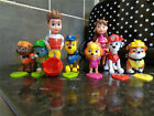 Cute Paw Patrol Cake Toppers Action 12pcs Figures Doll Kids Children Toy Set