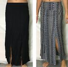 Ladies Skirt - front splits long fits size 8 10 12 14 16