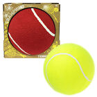 Giant Jumbo Giant 18cm Tennis Ball Novelty Toy Outdoor Games Red/Yellow