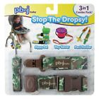 3 Pc Set PBNJ Stop The Dropsy SippyPal Toy Saver Paci Holder Set