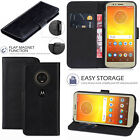 For Motorola Moto G5  - New Leather Flip Wallet Phone Case cover + Free Stylus