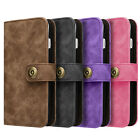 Luxury PU Leather Card Wallet Flip Case Cover for Apple iPhone 7 Plus