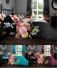 Faded Modern Floral Duvet Quilt Cover Bedding Set