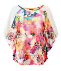 Casamia Floral Angel Wing Style Top