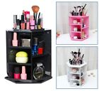 Beauty Supply Storage Rotating Acrylic Makeup Organizer Cosmetics Large Case NEW