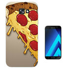 295 Pizza Slice Cheese Case Gel Cover For ipod iphone LG HTC Samsung S8