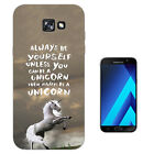 341 Always yourself unicorn Case Gel Cover For ipod iphone LG HTC Samsung S8