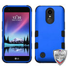 LG V5 K10 K20 Plus K20V Tuff Hybrid Rugged Shockproof Protective Case Cover Hook