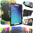 Shockproof Stand Armor Hard Back Case Cover For Samsung Galaxy Tab E 8.0 / 9.6